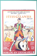 Les Fetes Galantes <p><i> (Original Belgian Movie Poster) </i></p>