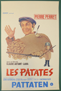 Les Patates <p><i> (Original Belgian Movie Poster) </i></p>