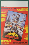 Mad Mission Part 2 - Aces Go Places <p><i> (Original Belgian Movie Poster) </i></p>