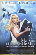 Memoirs Of An Invisible Man <p><i> (Original Belgian Movie Poster) </i></p>