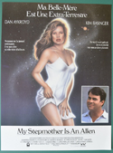 My Stepmother Is An Alien <p><i> (Original Belgian Movie Poster) </i></p>