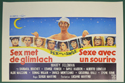 Sex With A Smile <p><i> (Original Belgian Movie Poster) </i></p>