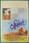 Splash <p><i> (Original Belgian Movie Poster) </i></p>
