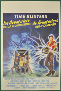 Time Busters <p><i> (Original Belgian Movie Poster) </i></p>