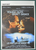 Tough Guys Don't Dance <p><i> (Original Belgian Movie Poster) </i></p>