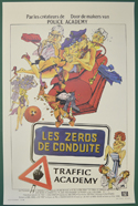 Traffic Academy <p><i> (Original Belgian Movie Poster) </i></p>