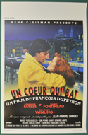 Un Coeur Qui Bat <p><i> (Original Belgian Movie Poster) </i></p>