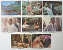 THE BOUNTY Cinema Set of Colour FOH Stills / Lobby Cards