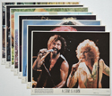 A  Star Is Born <p><a> Set of 8 Original Colour Front Of House Stills / Lobby Cards  </i></p>