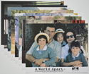 A WORLD APART (Full View) Cinema Set of Colour FOH Stills / Lobby Cards
