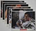 Assassins <p><a> Set of 6 Original Colour Front Of House Stills / Lobby Cards  </i></p>