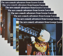 Howard The Duck <p><a> Set of 8 Original Colour Front Of House Stills / Lobby Cards </i></p