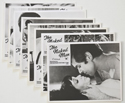 THE NAKED MAN (Full View) Cinema Set of  FOH Stills / Lobby Cards