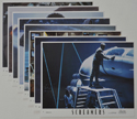 Screamers <p><a> Set of 8 Original Colour Front Of House Stills / Lobby Cards </i></p>