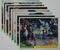 Treasure Island <p><a> Set of 8 Original Colour Front Of House Stills / Lobby Cards </i></p>