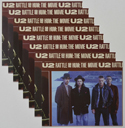 U2 Rattle And Hum <p><a> Set of 8 Original Colour Front Of House Stills / Lobby Cards </i></p>