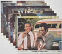 Uptown Saturday Night <p><a> Set of 8 Original Colour Front Of House Stills / Lobby Cards </i></p>