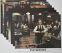 Verdict (The) <p><a> Set of 8 Original Colour Front Of House Stills / Lobby Cards </i></p>