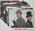 Without A Clue <p><a> Set of 8 Original Colour Front Of House Stills / Lobby Cards </i></p>