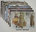 Doctor Zhivago <p><a> Set Of 8 Cinema Lobby Cards (1972/74 re-release cards) </i></p>