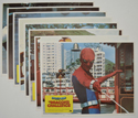 Spider-Man - The Dragon's Challenge <p><a> Set Of 8 Cinema Lobby Cards </i></p>