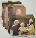 ALL OF ME (Full View) Cinema Set of Lobby Cards