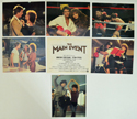 Main Event (The) <p><a> 7 Original Lobby Cards / Colour F.O.H. Stills + Title Card </i></p>