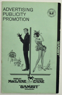 Gambit <p><i> Original 12 Page Cinema Exhibitors Campaign Press Book </i></p>