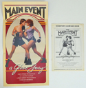 Main Event (The) <p><i> Original 8 Page Cinema Exhibitor's Campaign Press Book </i></p>