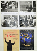 Mr Holland's Opus <p><i> Original Press Kit with 4 Black & White Stills </i></p>