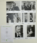 Nixon <p><i> Original Press Kit with 6 Black & White Stills </i></p>