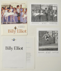 Billy Elliot <p><i> Original Press Kit with 2 Black & White Stills </i></p>