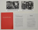 Sleepers <p><i> Original Press Kit with 2 Black & White Stills </i></p>