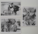 Pee Wee's Big Adventure <p><a> 3 Original Black And White Press Stills </i></p>