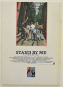 STAND BY ME – Souvenir Brochure - Back