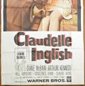 CLAUDELLE INGLISH – 3 Sheet Poster (BOTTOM)