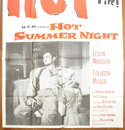 HOT SUMMER NIGHT – 3 Sheet Poster (BOTTOM)