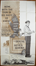 THE HOUSE OF THE SEVEN HAWKS – 3 Sheet Poster