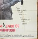 THE MACKINTOSH MAN – 6 Sheet Poster – BOTTOM Right
