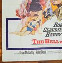 THE HELL WITH HEROES – 6 Sheet Poster – BOTTOM Left
