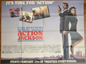 ACTION JACKSON – Subway Poster
