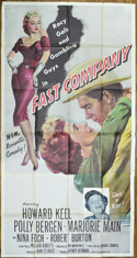 FAST COMPANY – 3 Sheet Poster