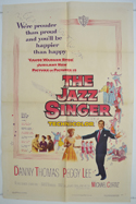 THE JAZZ SINGER Cinema One Sheet Movie Poster