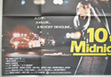 10 TO MIDNIGHT (Bottom Left) Cinema Quad Movie Poster