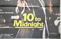 10 TO MIDNIGHT (Bottom Right) Cinema Quad Movie Poster