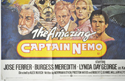 THE AMAZING CAPTAIN NEMO (Bottom Left) Cinema Quad Movie Poster