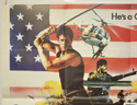 AMERICAN WARRIOR (Top Left) Cinema Quad Movie Poster