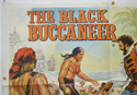 THE BLACK BUCCANEER  / MASTER SPY (Top Left) Cinema Quad Movie Poster
