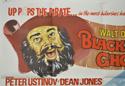BLACKBEARD'S GHOST / OLD YELLER (Top Left) Cinema Quad Movie Poster