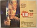 BLIND FURY Cinema Quad Movie Poster
